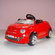 Toys Toys Masinuta Electrica Fiat New 500 - Masinuta electrica copii