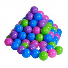 Set 100 Bile Colorate Pastel - Spatiu de joaca
