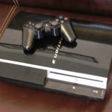 PS3 MODAT 40Gb PlayStation 3 Sony + JOCURI INSTALATE GTA 5, Fifa 16, GTA San Andreas