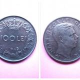 ROMANIA 100 LEI 1943 - Moneda Romania
