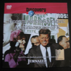 Dosare ale conspiratiei: Asasinarea lui JFK - DVD - Film documentare Altele, Romana