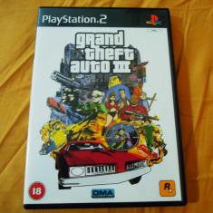 Joc GTA III, PS2, original, 24.99 lei(gamestore)! - Jocuri PS2 Rockstar Games, Actiune, 16+, Single player