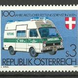 Austria 1981 - 100th ambulanta, neuzata
