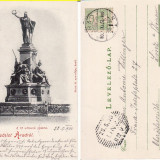 Carte Postala, Circulata, Printata - Arad -clasica- rara