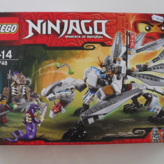 Vand Lego Ninjago 70748 Titanium Dragon, original, sigilat, 360 piese, 7-14 ani
