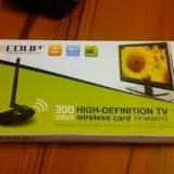 Adaptor wireless 300Mbps USB WIFI Adapter Realtek 1073/1283 HDTV placa retea