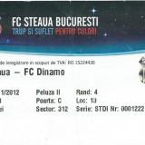 Bilet meci Steaua - Dinamo (2012)