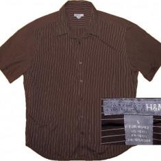 Camasa H&M originala, stare perfecta (L) - Camasa barbati H&m, Marime: L, Culoare: Alta, Maneca scurta
