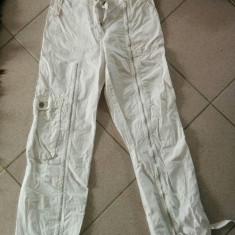 Haine Copii 10 - 12 ani, Pantaloni, Fete - Pantaloni de fas pentru fete, 10-12 ani, moderni cu fermoar, model deosebit