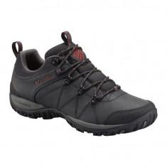 Pantofi barbatesti din piele Columbia Peakfreak Venture Waterproof Black (CLM-BM3992-BCK) - Pantofi barbati Columbia, Marime: 40, 45, Culoare: Negru