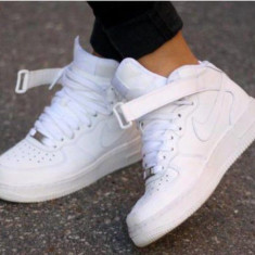 Adidasi dama, Piele sintetica - Gheata Nike Air Force 1