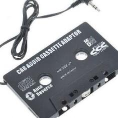 CD Player MP3 auto - Caseta adaptoare auto audio mp3 Player jack 3, 5mm, casetofon, telefon, dvd