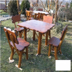 Masa gradina - Masa cu 4 scaune Gardenland - MSE 017