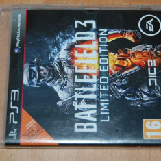 JOC PS3 PLAYSTATION3 BATTLEFIELD 3 LIMITED EDITION - ACCES TO : BACK TO KARKAND - Jocuri PS3 Ea Games, Actiune, 16+