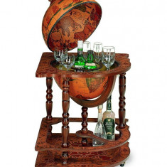 Glob pamantesc tip bar amplasabil pe colt cu cabina interna pentru bauturi