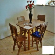 Masa gradina - Masa cu 4 scaune Gardenland - MSI 004