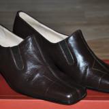 BELAIR Pantofi Femei Piele Naturala(manusa) Calapod foarte bun, Usori, Marime 37