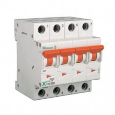 Siguranta automata modulara Moeller-Eaton PLSM-D20/4 curba D - 10 kA - Electromagneti