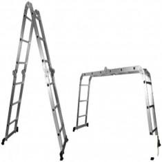 Scara Multifunctionala din Aluminiu BUILDXCELL - 647651 - Scara/Schela constructii