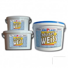 Vopsea auto - Vopsea alba pentru interior Mister Weiss - 8 L