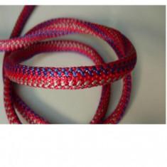 Snur ?7 mm PP rosu/albastru/argintiu - 305091 - 100 m - Fire bijuterii
