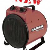 078806-Aeroterma industriala 3 KW Raider Power Tools, Numar trepte caldura: 3