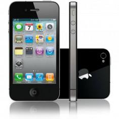 Telefon Apple iPhone 4S Black, 16 GB, Wi-Fi, fara incarcator, fara cablu de date
