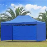 Pavilion impermeabil cu pereti 4.5m x 3m x 2.6h - Mobila terasa gradina