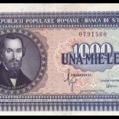 ROMANIA, 1000 LEI 1950