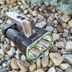 Mega Lanterna SMALL SUN ZY-T56 cu Dual CREE T6-U2 si Inteli-Mode (Pachet NOU)