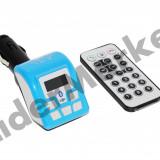 Modulator FM cu Bluetooth si telecomanda BF-805 - Modulator FM auto
