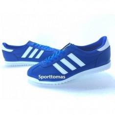 Adidasi barbati - Adidasi Adidas SL model nou 2015 albastru-alb
