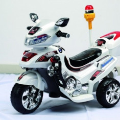 Masinuta electrica copii - Motoscuter cu acumulatori F928 Alb Ramiz