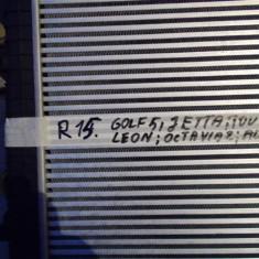 Radiator Intercooler 1k0145803H VW GOLF, JETTA, TOURAN, PASSAT, LEON, ALTEA, OCTAVIA 2