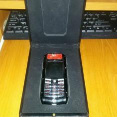 Telefon mobil Vertu, Negru, Neblocat, Nu se aplica - Vertu Ferarri