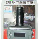 Modulator FM, cu telecomanda, slot SD, micro SD si USB  /03066