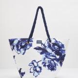 Geanta Tom Joule - Summerbag bleu floral