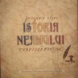 Istorie - PAGINI DIN ISTORIA NEAMULUI ROMANESC - IOAN VLADUCA
