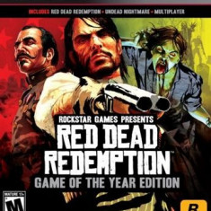 Red Dead Redemption Goty Edition Ps3 - Jocuri PS3 Rockstar Games