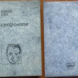 Carte Editie princeps - Aurel Rau, Micropoeme, Editura Dacia, 1975, prima editie