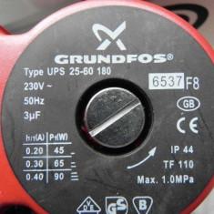 Pompa Recirculare Grundfos UPS 25-60 180 - 3 Trepte