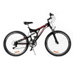 Mountain Bike - Bicicleta MTB Passati Blog 27.5 negru fullsuspension