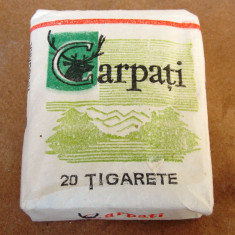 Colectii - Carpati - tigari romanesti de colectie