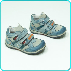 Pantofi copii, Baieti, Piele naturala - DE CALITATE _ Pantofi / ghetute din piele, comode, calitate BÄREN SCHUHE _ nr 24