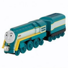 Trenulet de jucarie Fisher Price, 2-4 ani, Metal, Unisex - Locomotiva Connor, Thomas si prietenii sai, seria Take'n Play / Take along