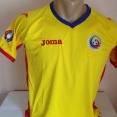 Tricou echipa fotbal, Nationala, Romania, Maneca scurta - TRICOU ROMANIA ACASA EURO 2016 MARIMI DISPONIBILE S, M, L, XL, XXL