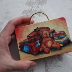 Cutie metalica pentru sandvich - Teddy -12 x 8 cm