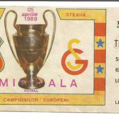 Bilet meci - @ Bilet de meci-STEAUA BUCURESTI- GALATASARAY -semifinala
