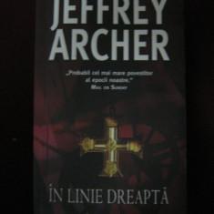 Roman - Jeffrey Archer - In linie dreapta - 536384