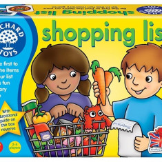 Joc Educativ In Limba Engleza Lista De Cumparaturi Shopping List orchard toys